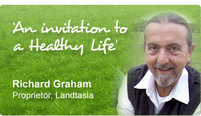 'An invitation to a Healthy Life' - Richard Graham, CEO of Landtasia