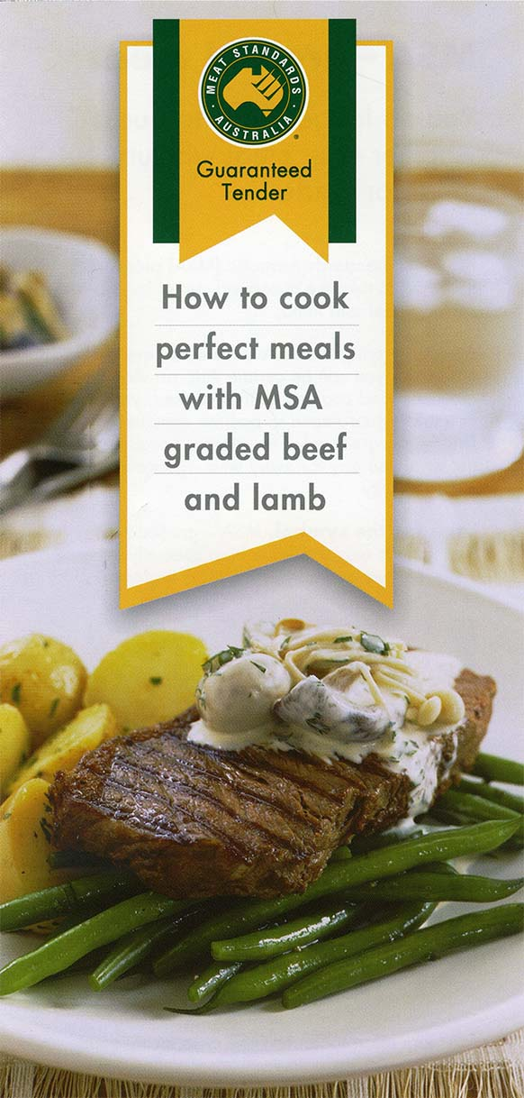 Meat Standards Australia - Landtasia certified organic grass-fed beef is MSA Tender graded.