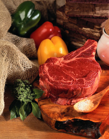 Healthy agriculture produces Landtasia's healthy certified organic grass-fed beef and vegetables.