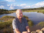 Picture of Peter Andrews at Landtasia Wetlands