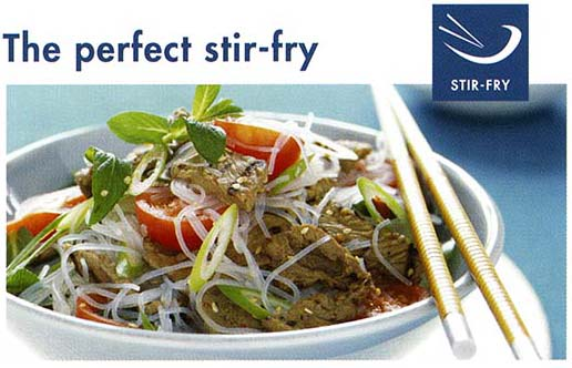 Meat Standards Australia - MSA perfect stir-fry cooking instructions.  Landtasia meat is MSA Tender graded.